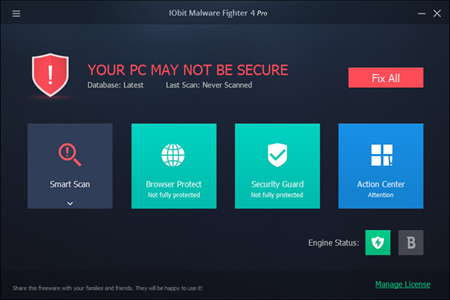 IObit Malware Fighter Pro 4.3.0.2739 Multilingual