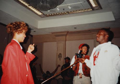 Whitney Houston and Robyn Crawford