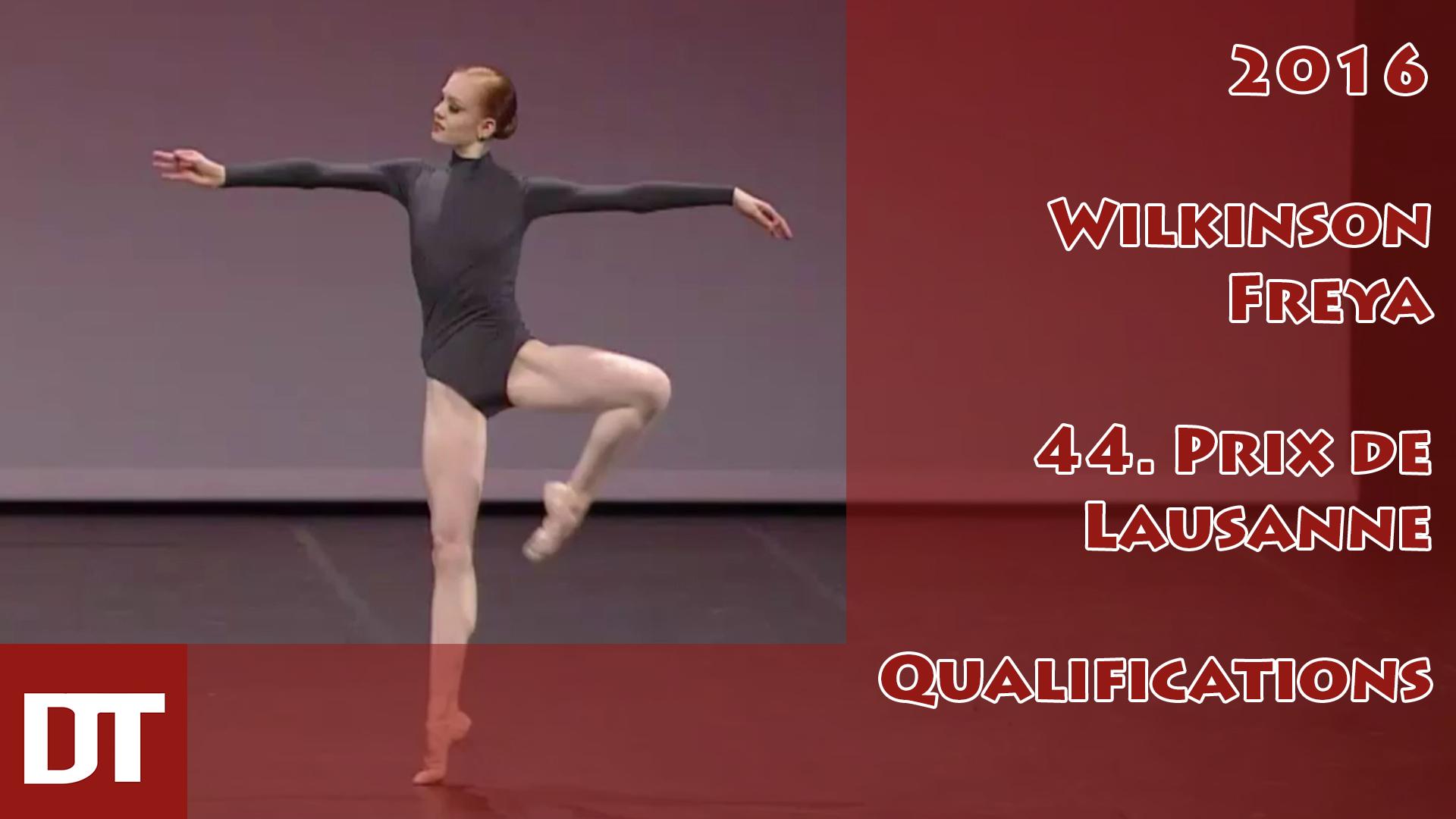 2016 – Wilkinson Freya – 44. Prix de Lausanne – Qualifications