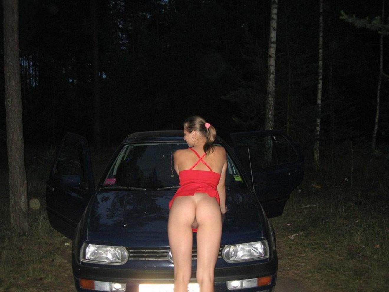putas en el coche