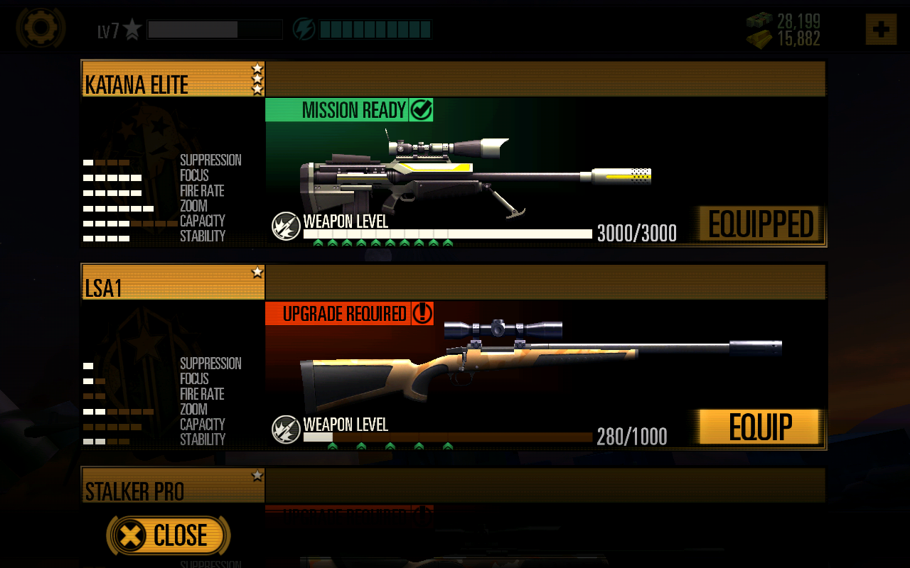 Sniper X