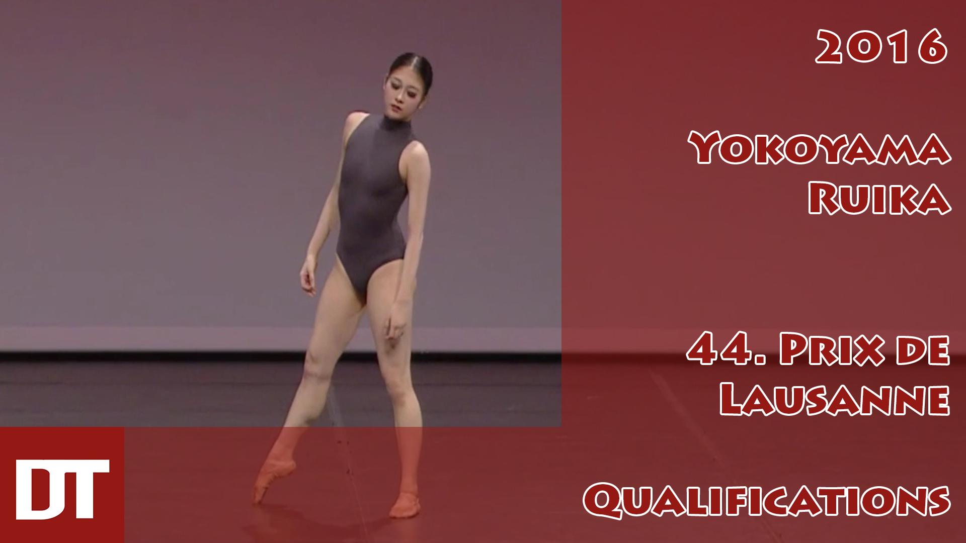 2016 – Yokoyama Ruika – 44. Prix de Lausanne – Qualifications