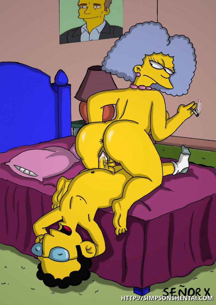 Selma Bouvier haciendo el amor