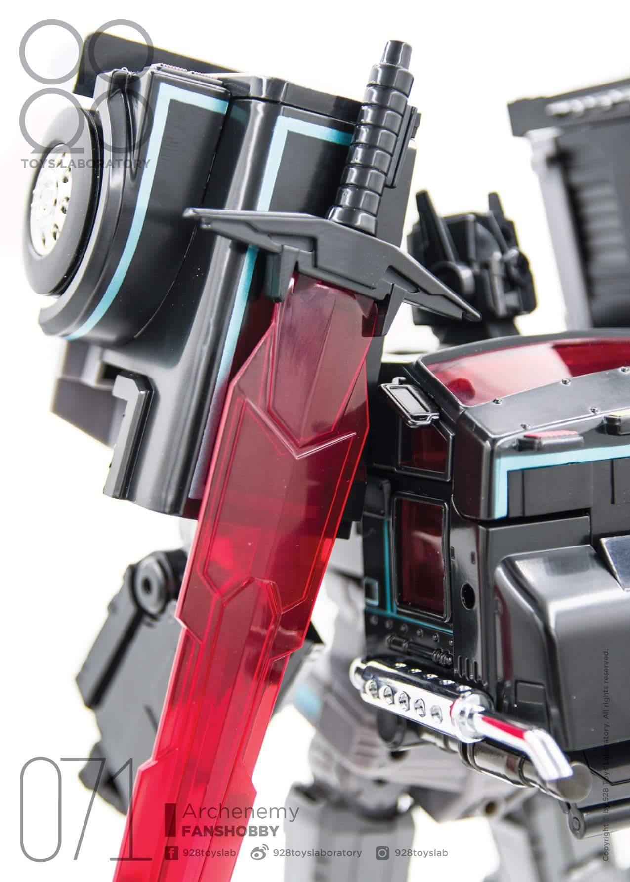 [FansHobby] Produit Tiers - Master Builder MB-01 Archenemy (aka Scourge RID 2000),  MB-04 Gunfighter II (aka Laser Optimus G2) et MB-09 Trailer (remorque) 7l4djMxr