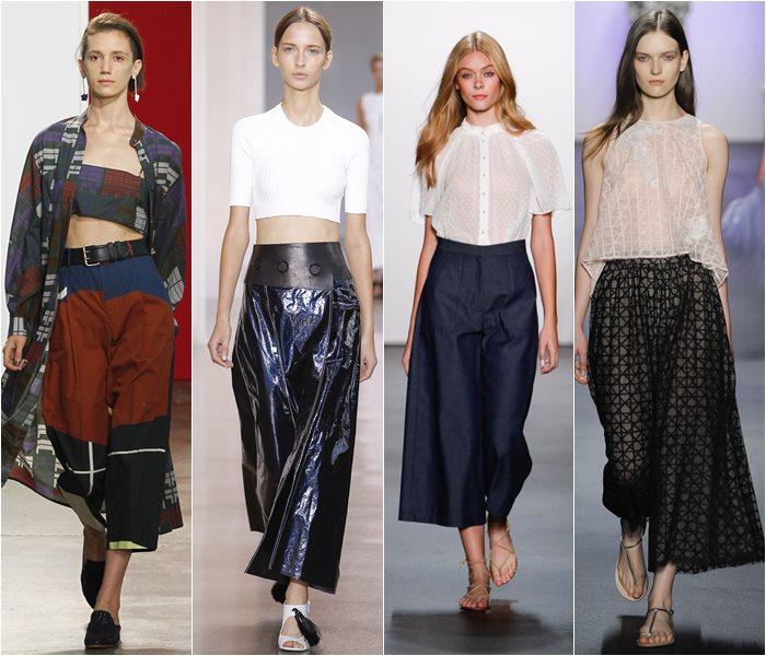Culottes pants spring/summer 2016