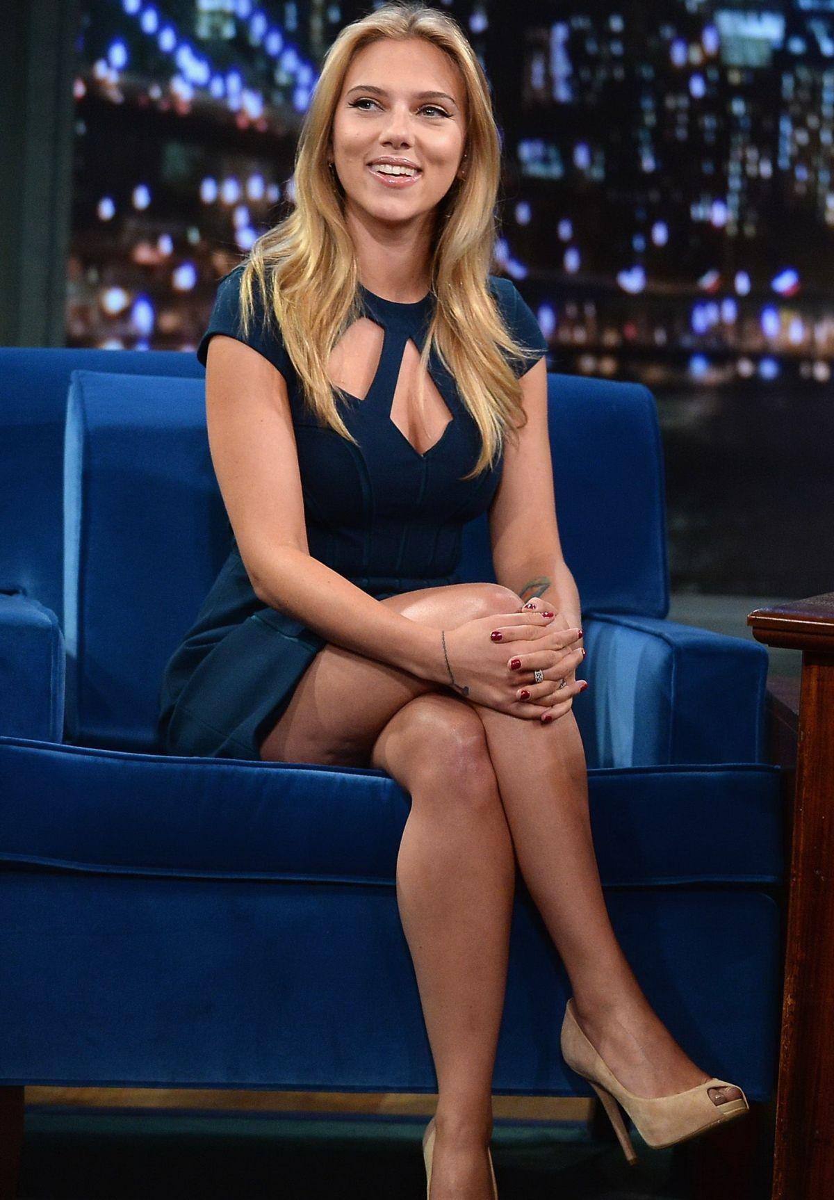 Scarlett Johansson Sobre Sus Fotos Intimas -6032