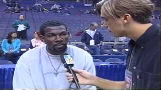 Interview with Michael Finley -NBA All Star Game 2001