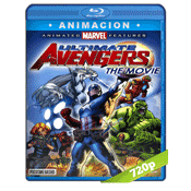 Vengadores Ultimate Avengers (2006) BRRip 720p Audio Trial Latino-Castellano-Ingles 5.1