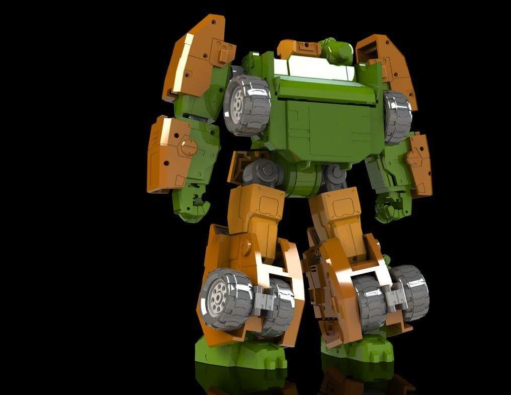 [FansHobby] Produit Tiers - Master Builder MB-07 Gun Buster - aka Roadbuster/Cahot des Wreckers IDW GeiMP6Ww