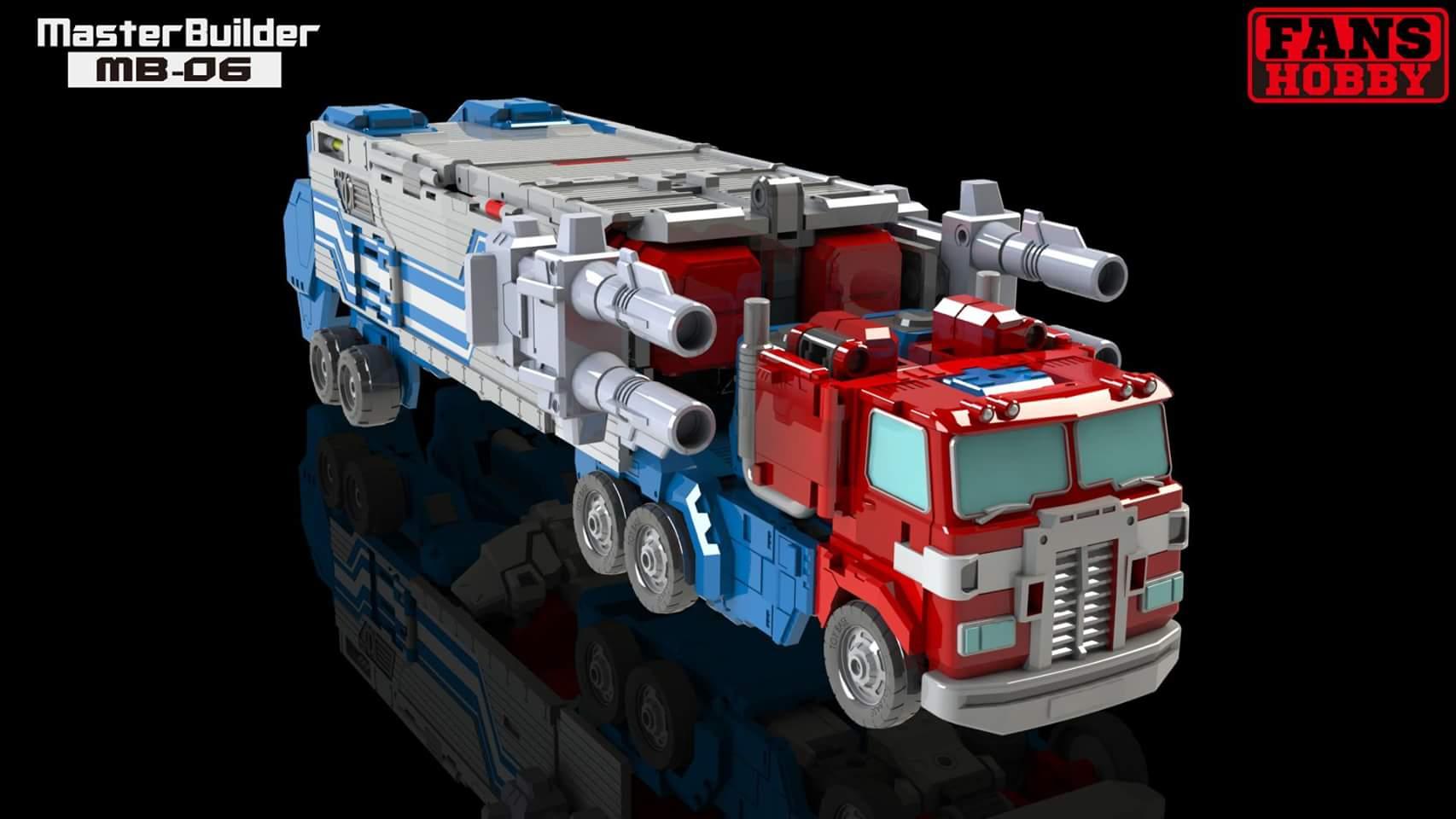 [FansHobby] Produit Tiers - MB-06 Power Baser (aka Powermaster Optimus) + MB-11 God Armour (aka Godbomber) - TF Masterforce DPCDgsM0