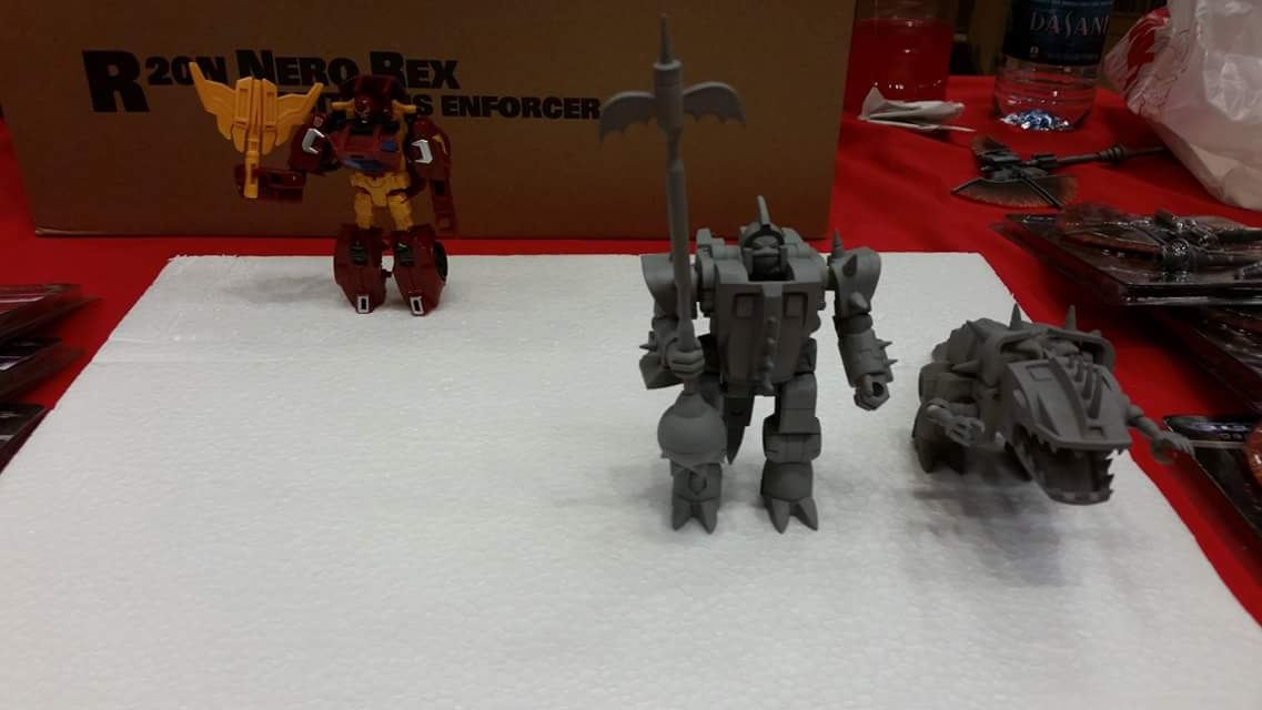 Produit Tiers: [Corbot V] CV-002 Mugger - aka Allicon | [Unique Toys] G-02 Sharky - aka Sharkticon/Requanicon JIXLXCPE