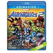 Vengadores Ultimate Avengers 2 (2006) BRRip 720p Audio Trial Latino-Castellano-Ingles 5.1