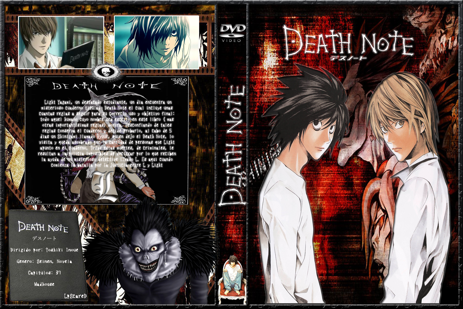 Death Note | Cover DVD | - Latino Anime