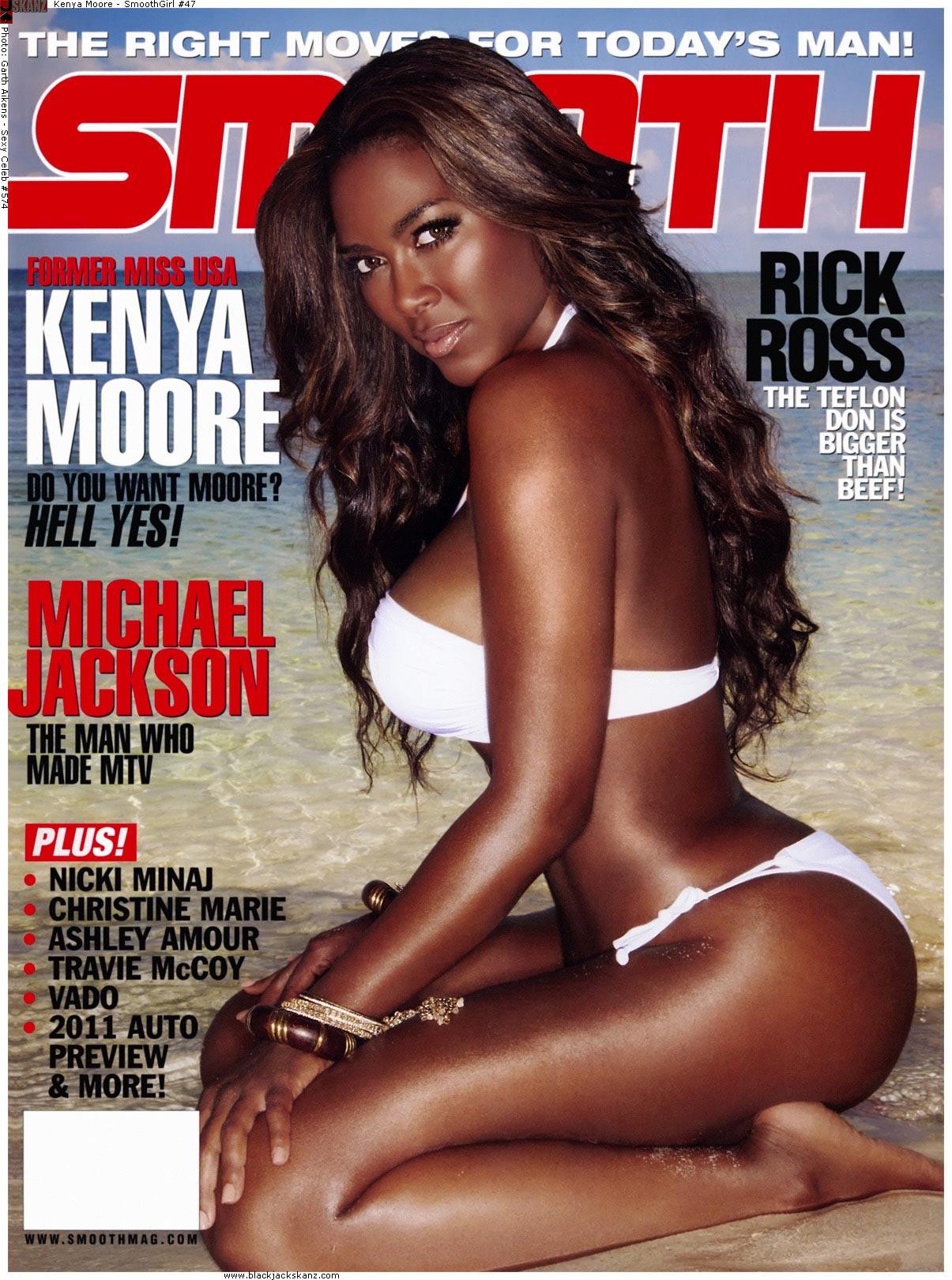 Кенья Мур голая (Kenya Moore) - Smooth Magazine 2010