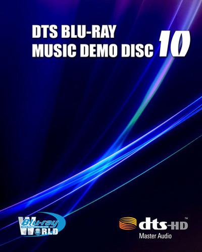 DTS Blu-ray Music Demo Disc 10 - 1080i Blu-ray AVC DTS-HD MA