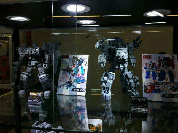 [FansHobby] Produit Tiers - MB-06 Power Baser (aka Powermaster Optimus) + MB-11 God Armour (aka Godbomber) - TF Masterforce 6x5x7x2c