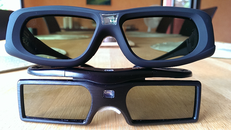 Are Samsung D Glasses Compatible With Benq