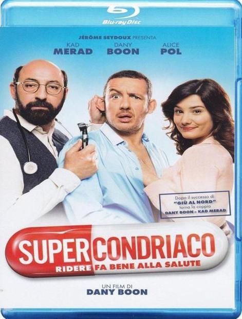 Vaistas nuo visų ligų / Superchondriaco / Supercondriaque (2014) [BDRip LT/FR] Komedija