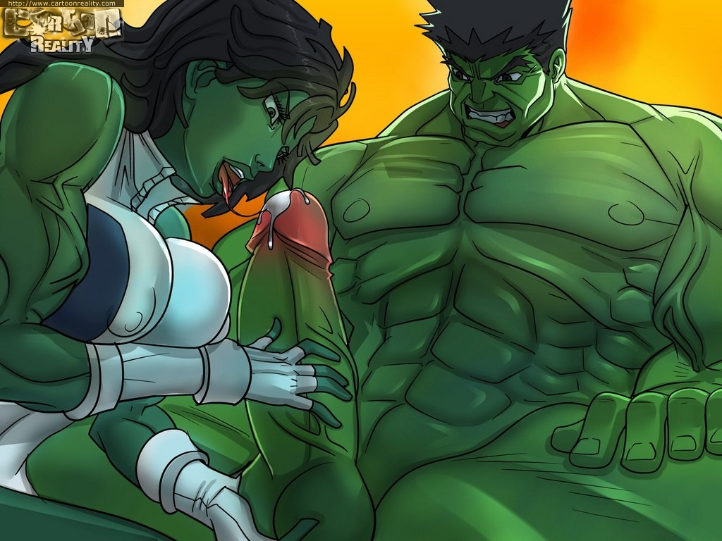 Hulk hentai pornó
