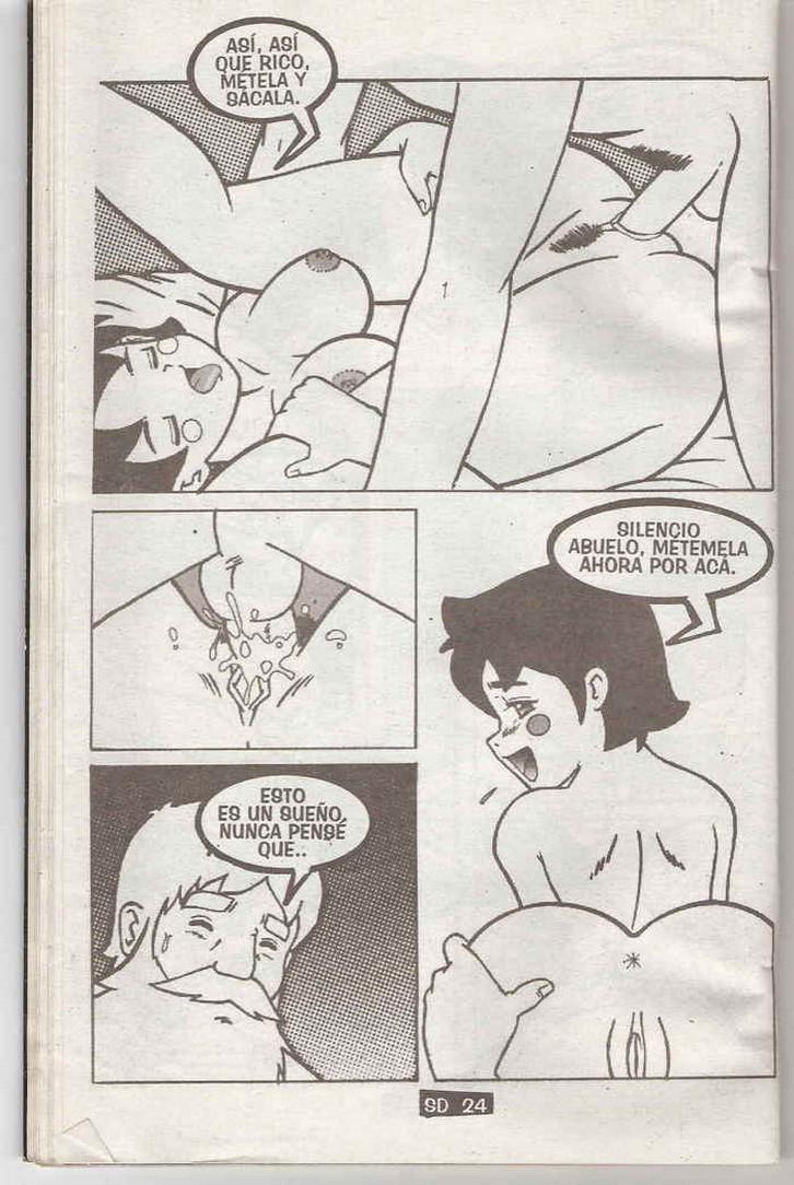 Abuelo Le Fuerza Porn ▷ heidi cómic xxx - comic porno gratis