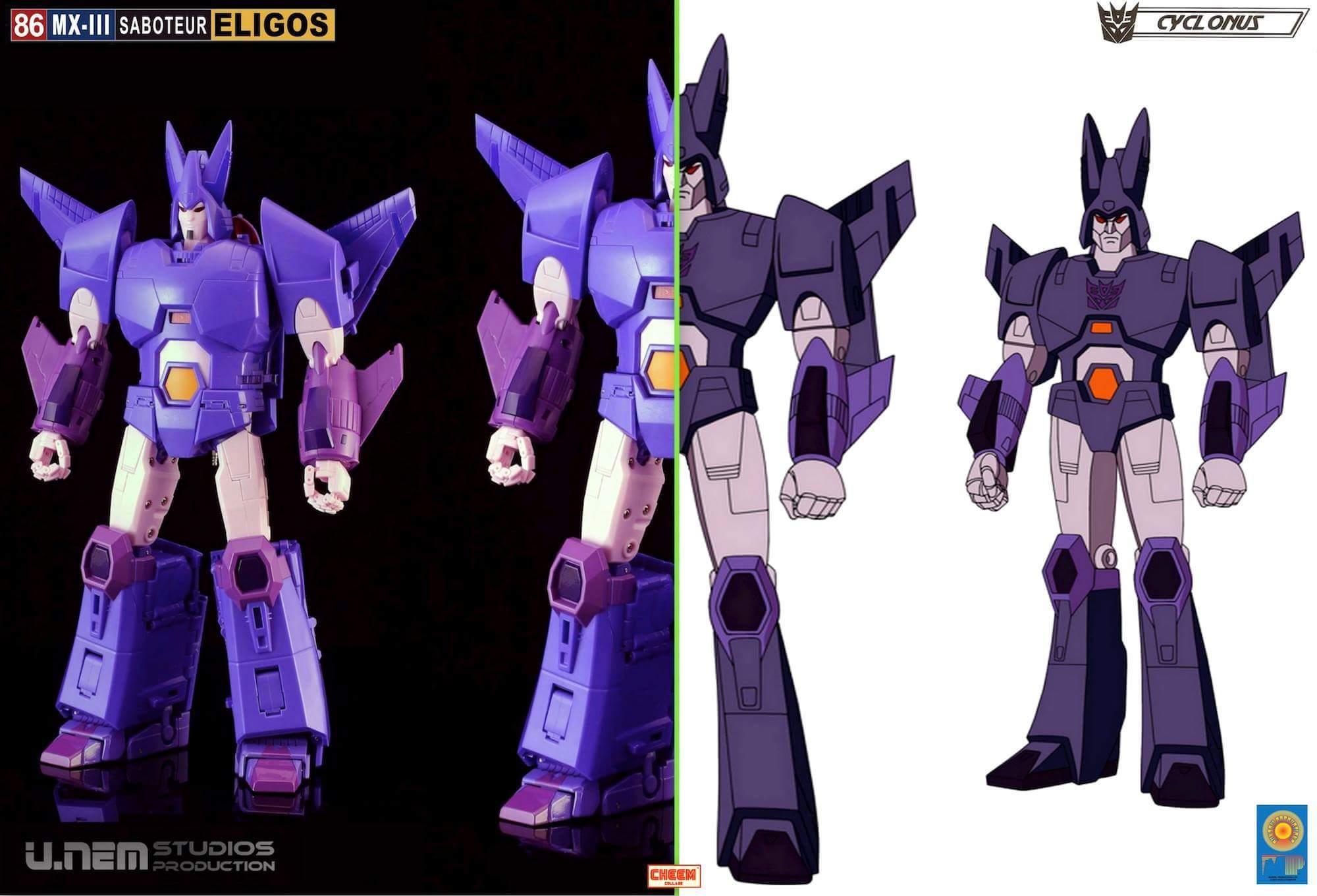 [X-Transbots] Produit Tiers - MX-III Eligos - aka Cyclonus - Page 2 CilVAGGs