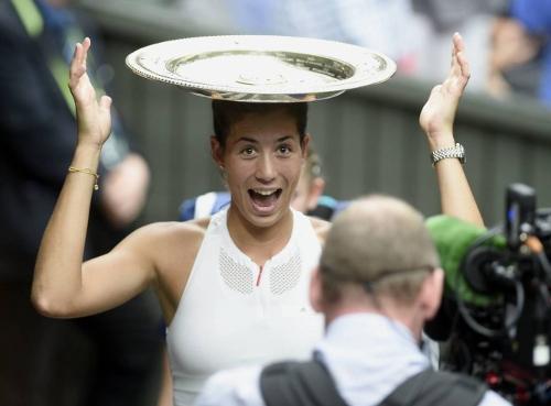 G, Muguruza se lleva el título de Wimbledon 2017 W3LARvUO