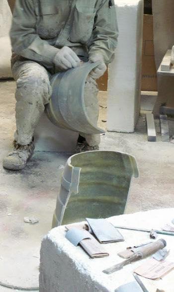 Processo de criação da Armadura de Gemeos para a exibição de Pachinko LFLbSYRz