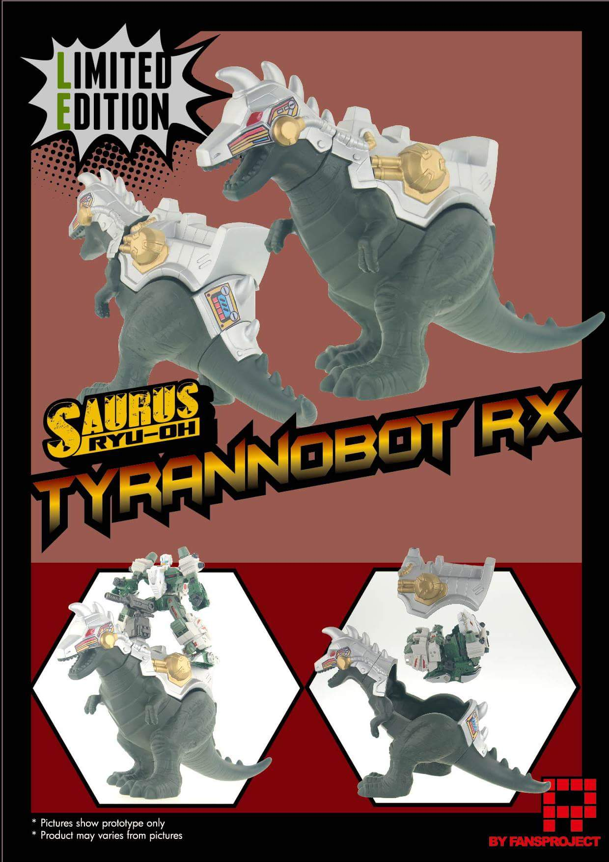 [FansProject] Produit Tiers - Jouet Saurus Ryu-oh aka Dinoking (Victory) | Monstructor (USA) - Page 2 HOyAhDS0