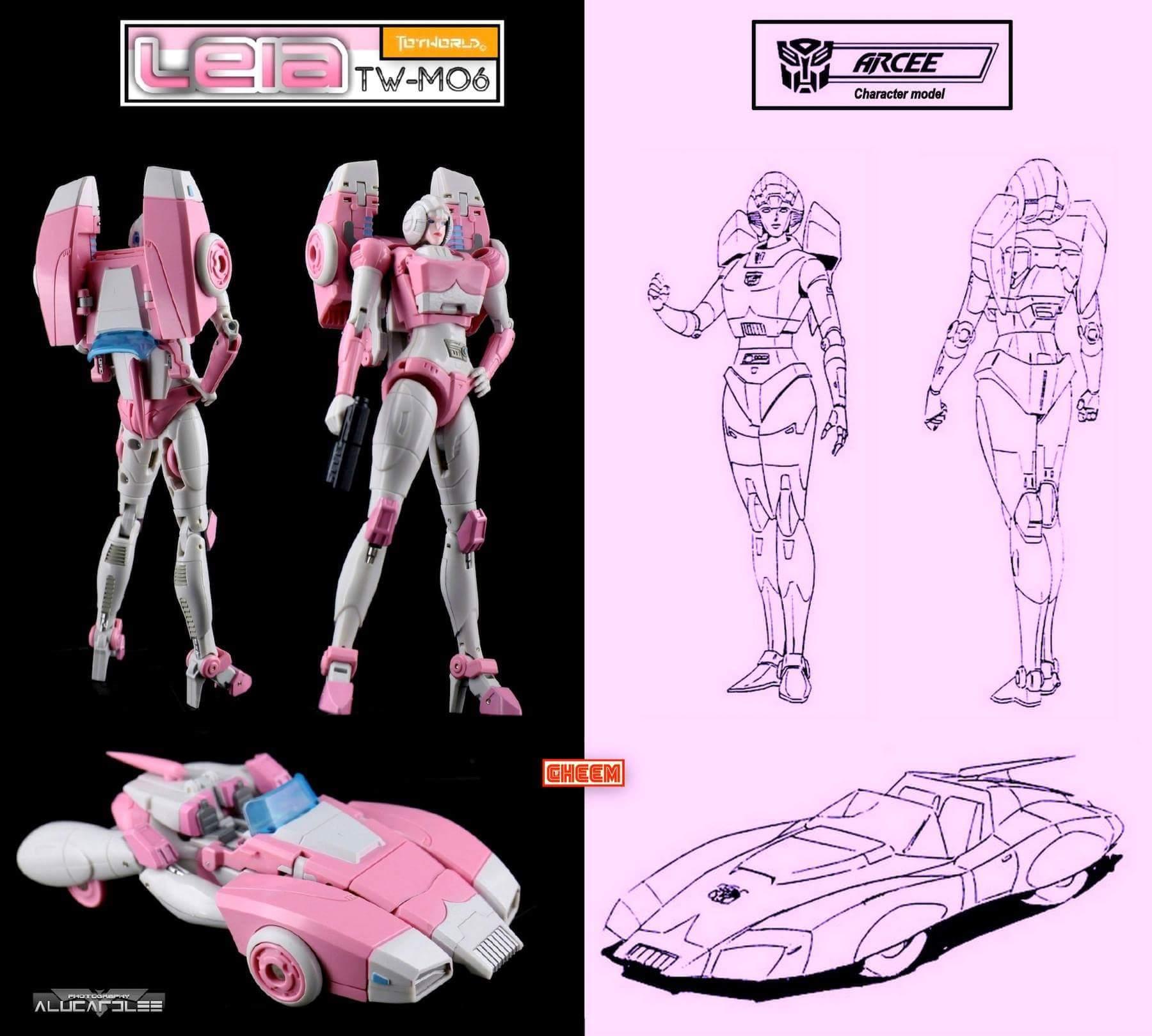 [Toyworld][Zeta Toys] Produit Tiers - Jouet TW-M06 Leia / Zeta-EX05 ArC aka Arcee/Arcie IzoG69QA