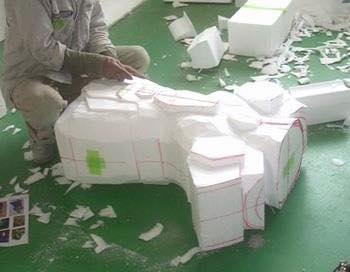 Processo de criação da Armadura de Gemeos para a exibição de Pachinko 4gdBAnWq