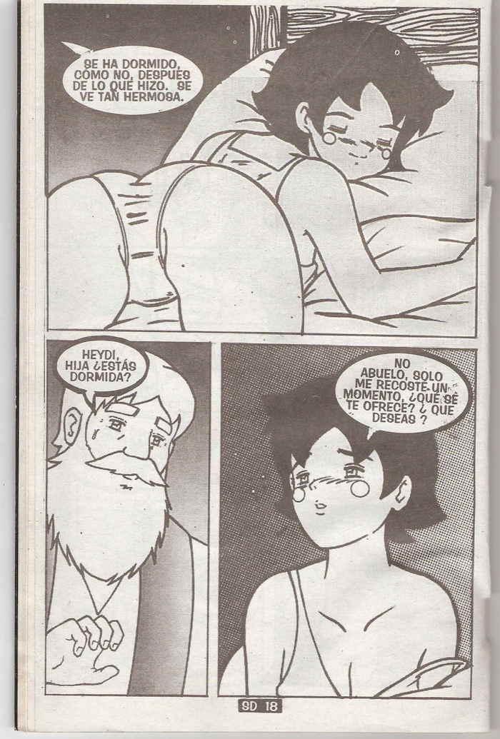 Abuelo tiene sexo con la empleada - 3 part 8