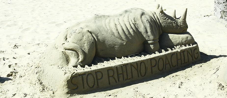 Zandsculpturen Durban