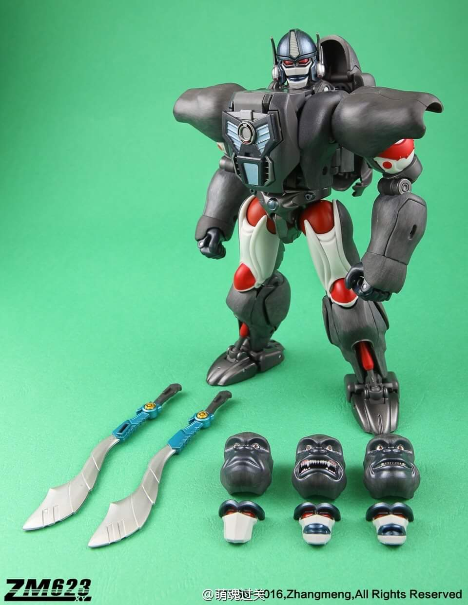 [Masterpiece] MP-32, MP-38 Optimus Primal et MP-38+ Burning Convoy (Beast Wars) - Page 3 CRtgyRHg