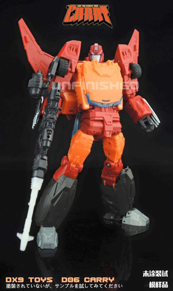 [DX9 Toys] Produit Tiers - Jouet D-06 Carry aka Rodimus et D-06T Terror aka Black Rodimus 6oEx3lZC