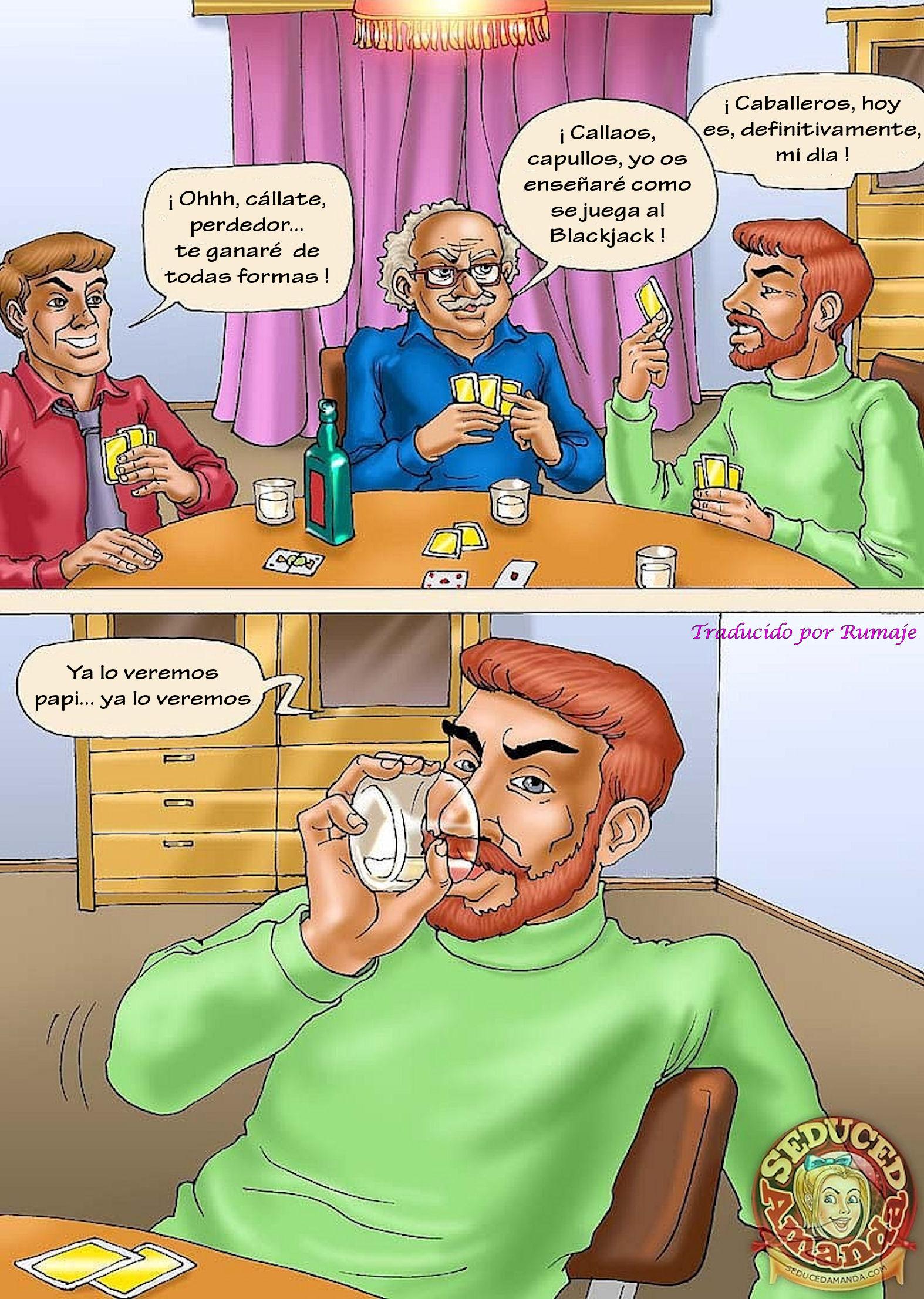 Развратна аманда комикс 19 фотография