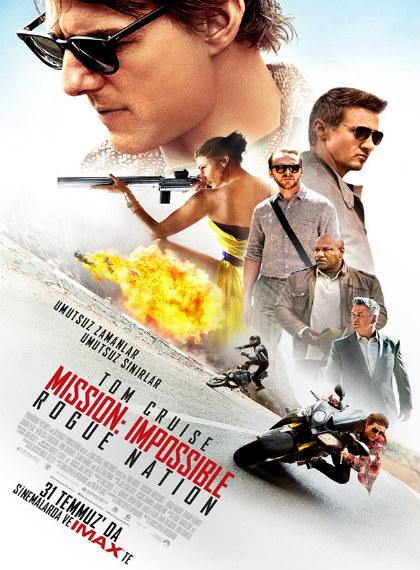 Görevimiz Tehlike 5 – Mission Impossible Rogue Nation 2015 v2 HDRip XviD AC3 Türkçe Altyazı – Tek Link
