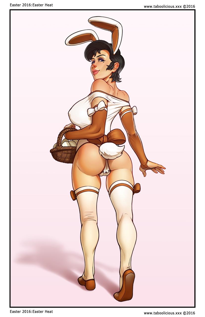 Easter Taboolicious cómic
