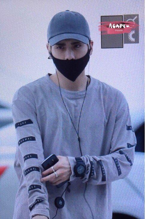 [IMG/160715] Jonghyun, Key @ Aeropuerto Incheon hacia Japón. 37P9WyEE