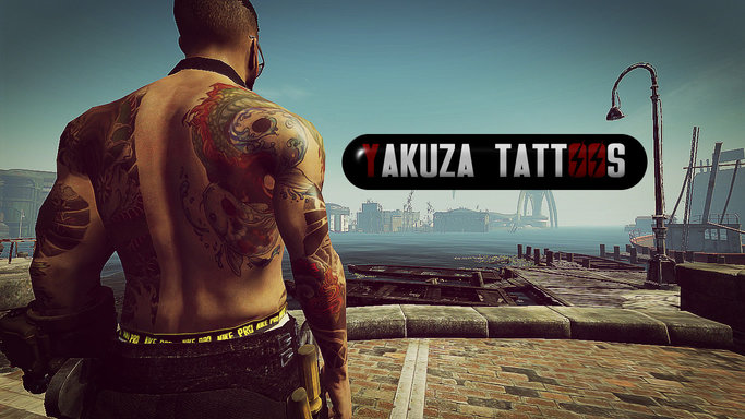 Yakuza Tattoos Male Standalone By Revelationwh At