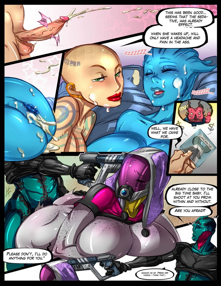 масс эффект секс комиксы