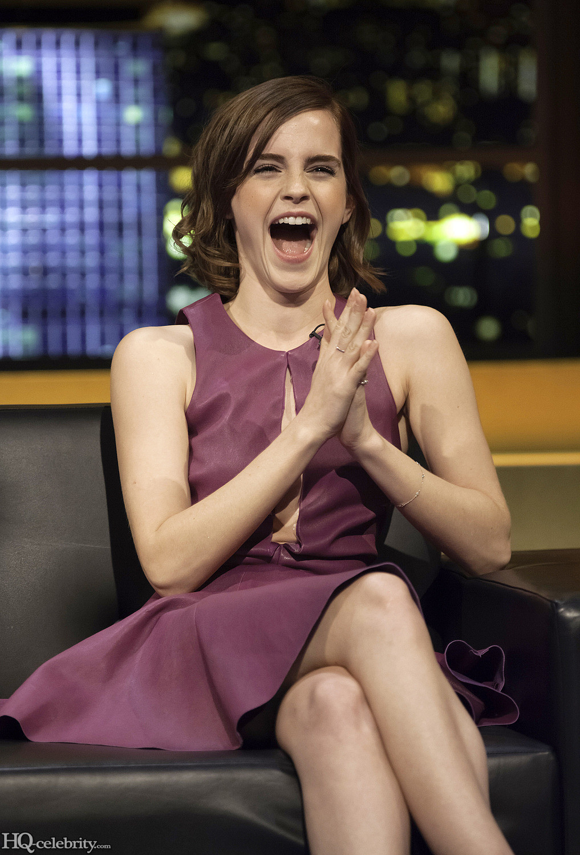 Emma Watson Has A Blast On The Jonathan Ross Show Adqhg7qh