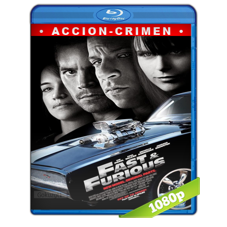 Rapido Y Furioso 4 (2009) BRRip Full 1080p Audio Trial Latino-Castellano-Ingles 5.1