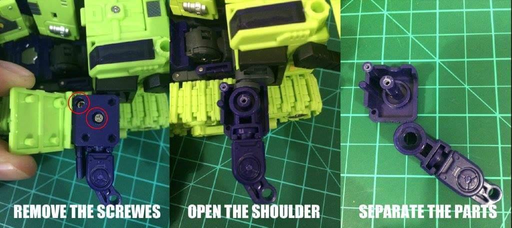 [Toyworld] Produit Tiers - Jouet TW-C Constructor aka Devastator/Dévastateur (Version vert G1 et jaune G2) - Page 5 IpXd0T05