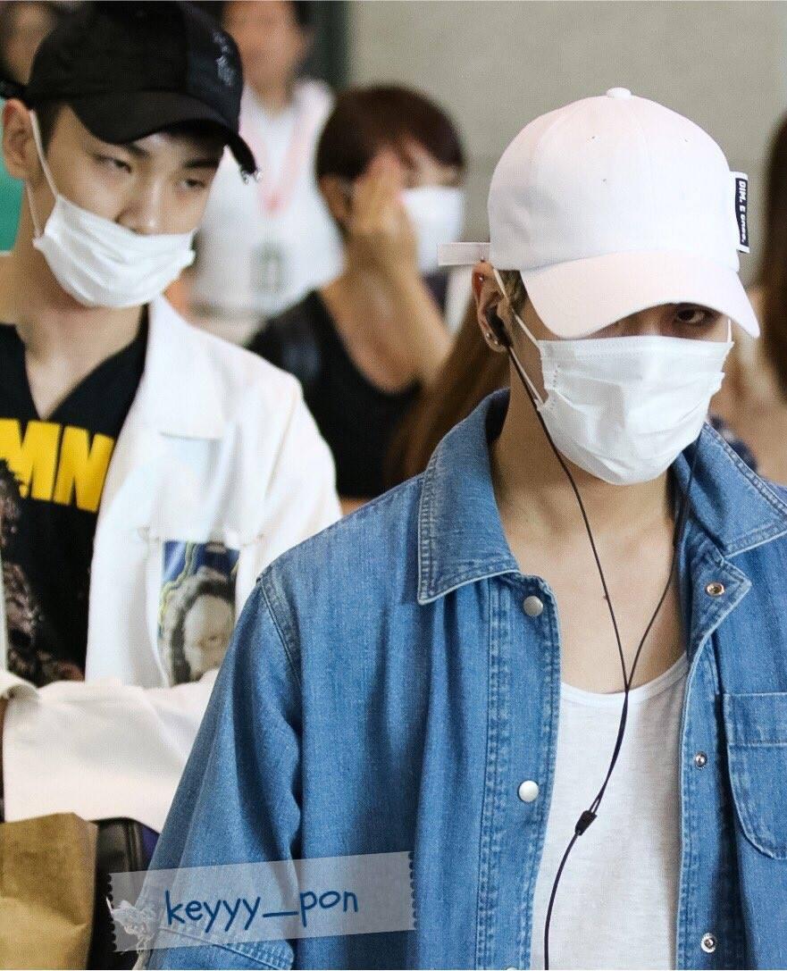 [IMG/160718] Onew, Jonghyun, Key, Minho @Aeropuerto de Kansai e Incheon (Jap-Cor) YthPsdqw