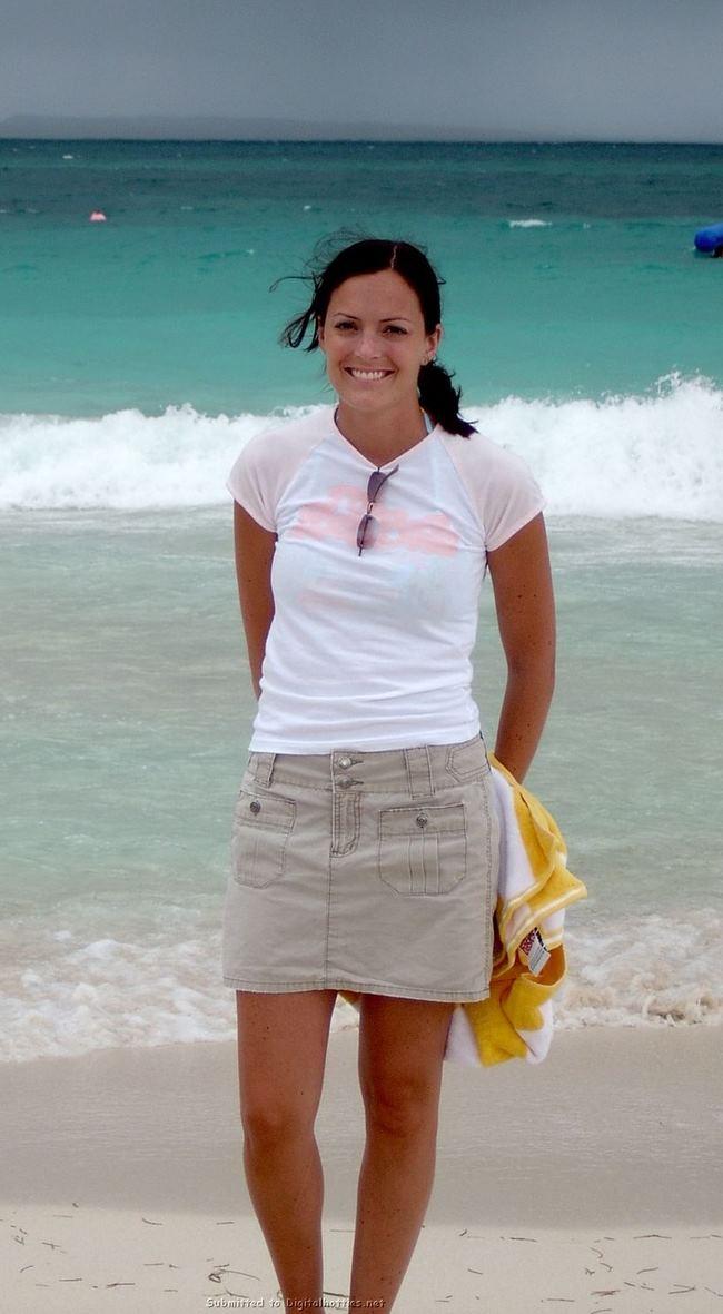 Hermosa treitañera perdio la Cam de sus Vacaciones!