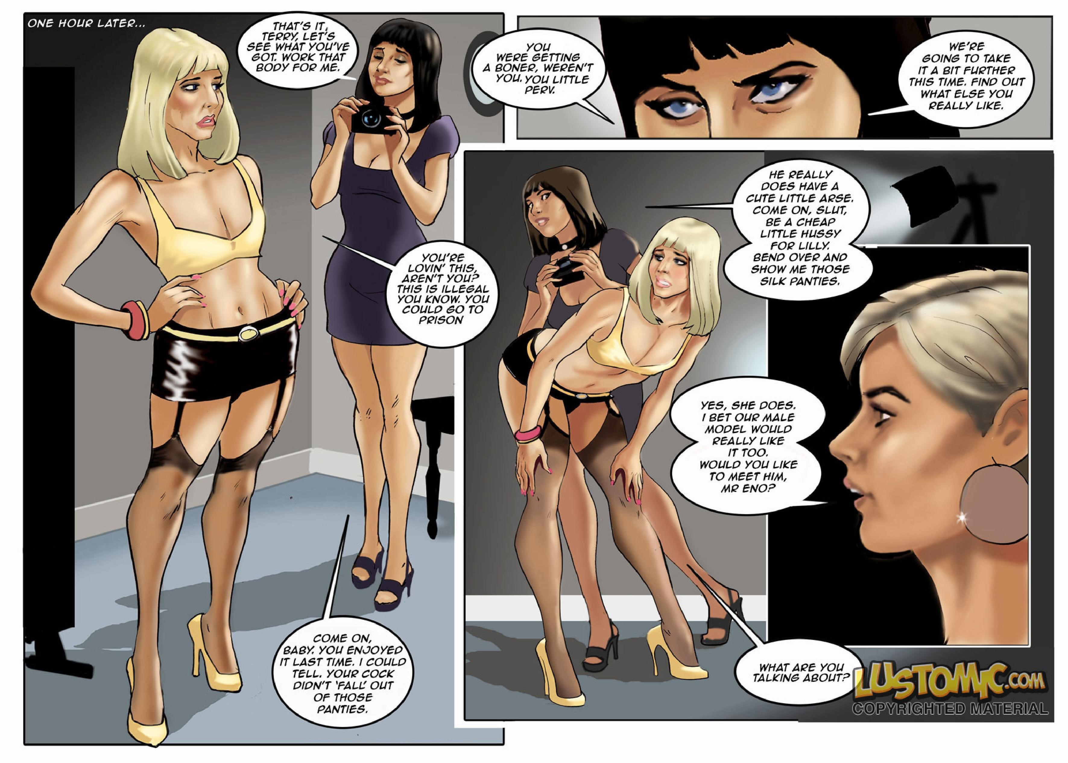 Mistress noir in club - 1 6