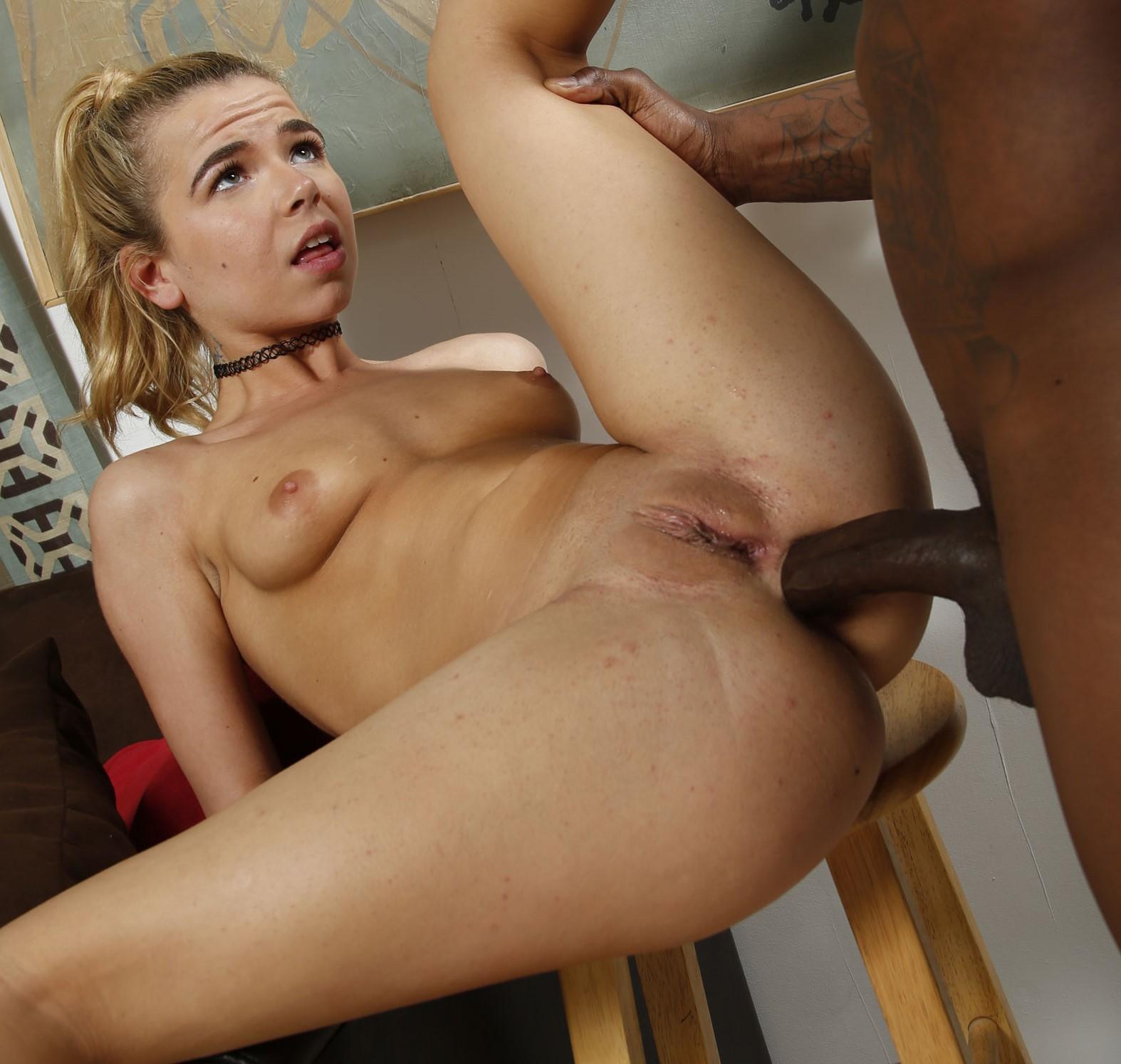 Alina West - el arte del placer anal (interracial)