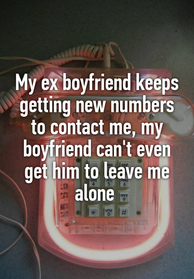 your exs new relationship