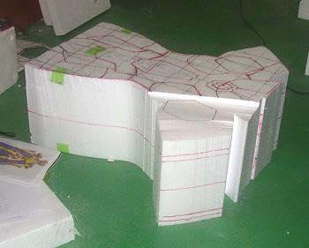 Processo de criação da Armadura de Gemeos para a exibição de Pachinko 2WlMXalE