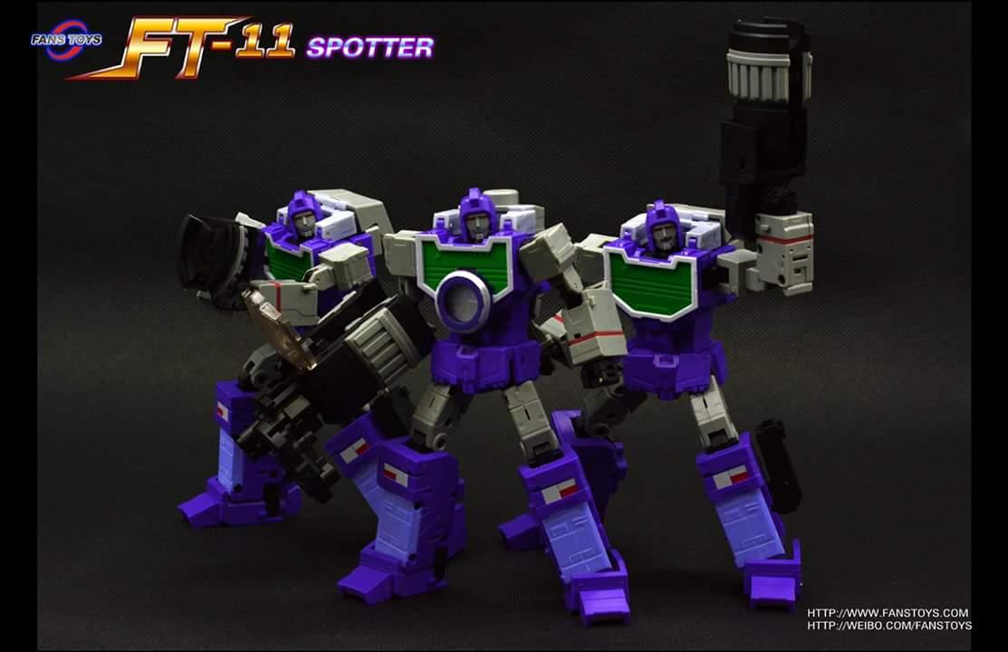 [Fanstoys] Produit Tiers - Jouet FT-11 Spotter - aka Reflector/Réflecteur 71fMji0j